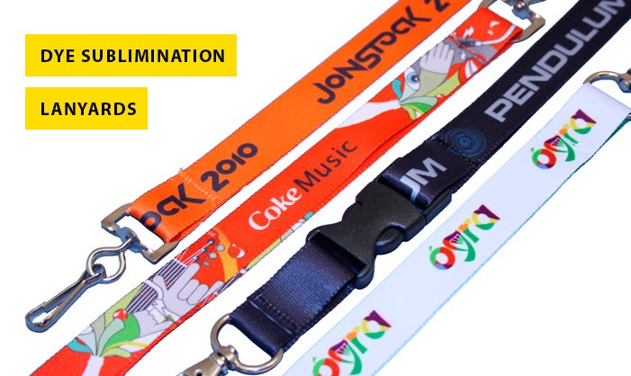 Dye Sublimination Lanyards